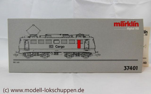 Güterzuglokomotive BR 140 / E 40 der DB AG / DB / Märklin 37401     2
