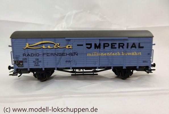 "nsider-Wagen 2011: Gedeckter Güterwagen ""Kuba-Imperial"" / Märklin 48161     3"
