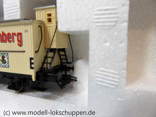 """Märklin 48792 DRG G-Wagen Set Biertransport Ep.2 """"Ledererbräu Nürnberg"""" MHI Sondermodell   8"""