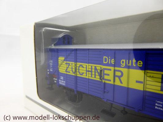 """Insider-Wagen 2000: Gedeckter Güterwagen """"Züchner-Dose"""" /  Märklin 46159    4"""