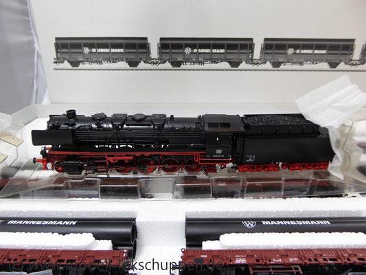 Märklin 26558 Einmalige Serie BR 44  DB mit schwerem Güterzug Stahlröhren    7