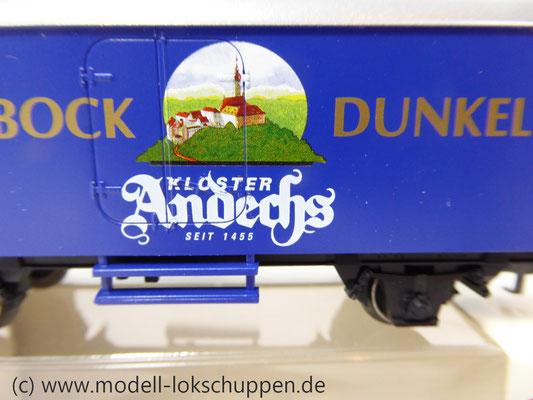 "H0-Bierwagen ""Kloster Andechs Doppelbock Dunkel"" / Märklin 4421    5"