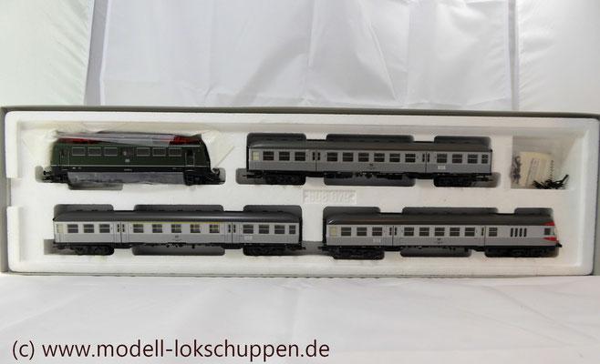 """BR 140 DB Wendezug im Nahverkehr """"Silberlinge"""" / Märklin 26511   2"""
