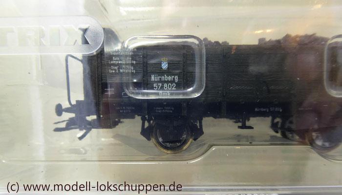"""Trix 24304 Wagen-Set zum Stahlwerk """"Maxhütte""""   7"""