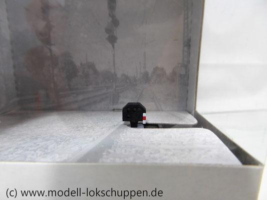 Märklin 74371 Licht-Gleissperrsignal f. Stellpult 72750