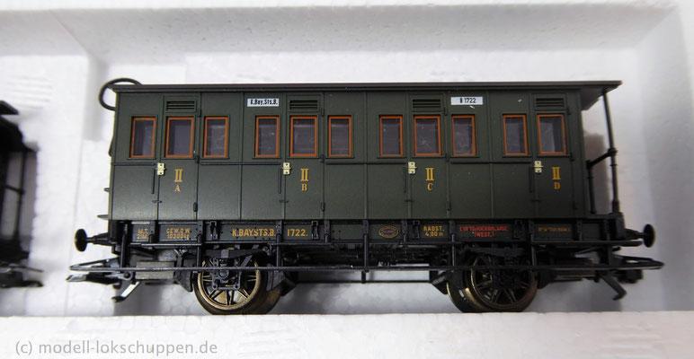 Märklin 43985 Bayerisches Personenwagen-Set / Epoche I    8