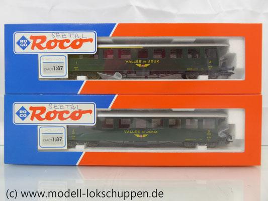 Seetalbahn Vallee de Joux Roco 45095.1 45096.1 / Exclusiv