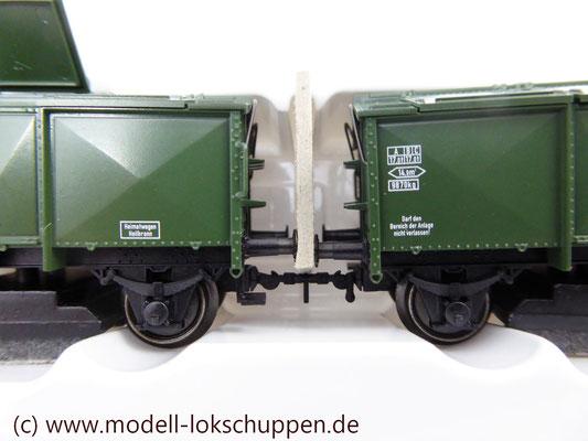 Märklin 46010  Schienenreinigungswagen Klappdeckelwagen-Paar KK 15    3
