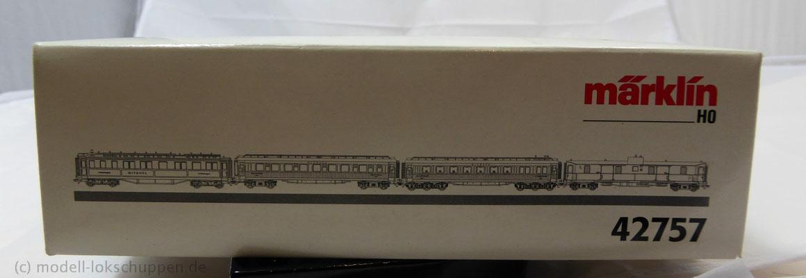 """Märklin 42757 Wagen-Set """"die goldenen Zwanziger"""" DRG"""