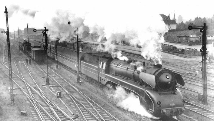 D Zug 167 Riviera Express 1958