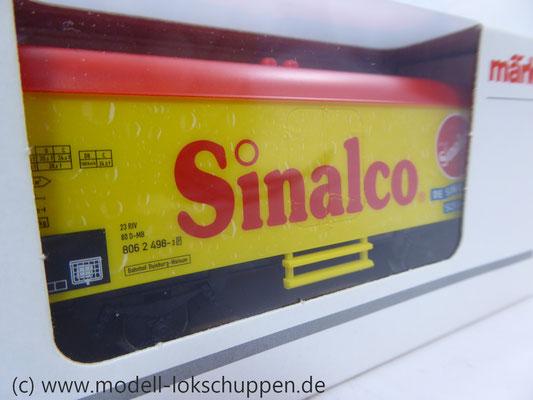 Märklin 44190 Kühlwagen Sinalco GmbH Markengetränke & Co. KG     1