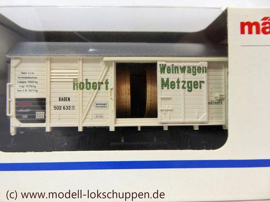 """Märklin H0 48754 Insider Jahreswagen 1999 """"Robert Metzger & Co""""    4"""