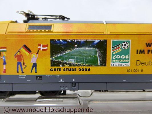 """Märklin 39370 E-Lok BR 101 """"Fußball WM 2006"""" Insider Modell 2000   7"""