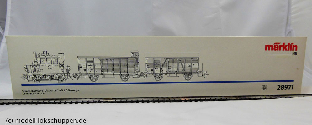 Märklin 28971 H0 Zugset Glaskasten der ÖBB / Limitierte Serie 99