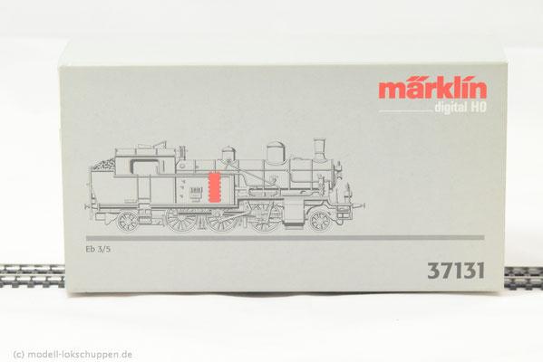 Märklin 37131 Tenderlokomotive Serie Eb 3/5 der SBB    1