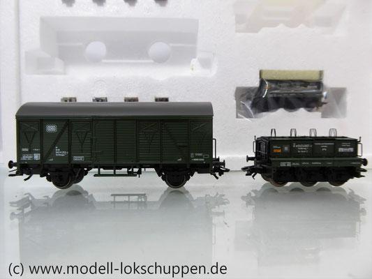 Märklin 48690 H0 Wagen-Set Gleiswaagen-Eichzug, DB, Ep. IV    5