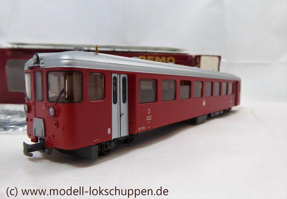 Bemo 3279 502 - Steuerwagen - BVZ - Bt 2252 Steuerwagen 60er-Jahre