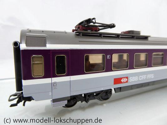 Märklin 42171  Euro-City-Wagen Mitropa Restaurantwagen IV WRm der SBB    4