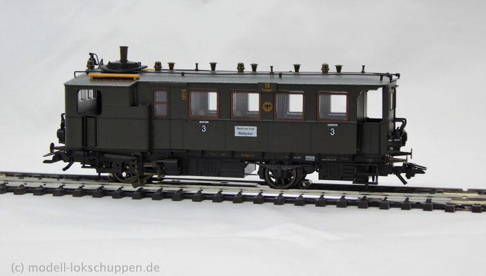 Ci dT Wü 05 (DRG) Kittel | Spur H0 - Art.Nr. 34251  Dampftriebwagen
