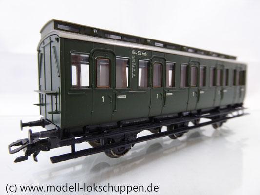 Märklin 4200 Preußische Abteilwagen Reihe A3 Pr 14 der DB    2