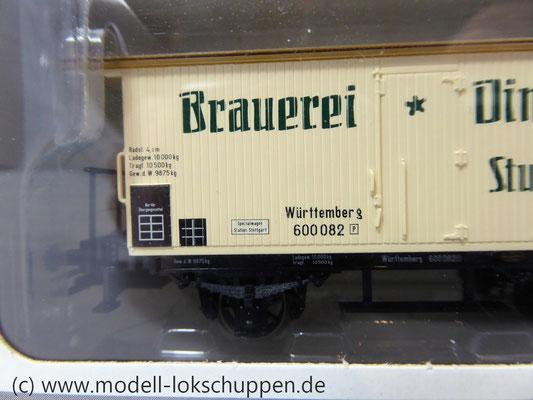 Märklin 48283 - Bierwagen Dinkelacker K.W.St.E.    3