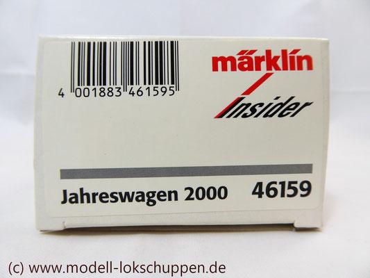 """Insider-Wagen 2000: Gedeckter Güterwagen """"Züchner-Dose"""" /  Märklin 46159    1"""
