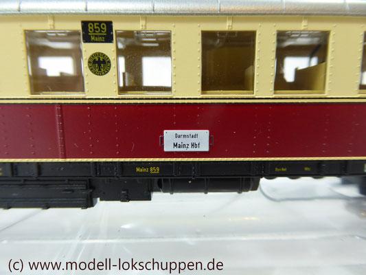 Märklin H0 34261 Diesel-Triebwagen VT 859 der DRG, Delta, MHI 1998    4