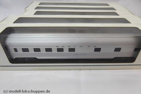 Märklin Santa Fe mit 6 Streamliner  Schnellzugwagen   9