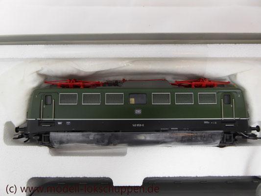 """BR 140 DB Wendezug im Nahverkehr """"Silberlinge"""" / Märklin 26511   10"""