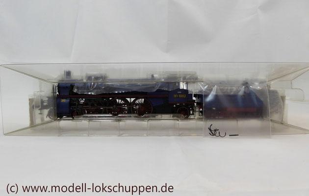 Schnellzuglokomotive Serie IVh der Gr.Bad.Sts.E. / Märklin 39021 MHI 2008    3