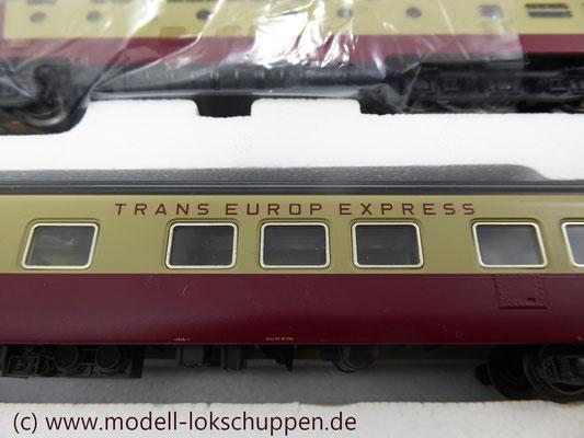 Märklin Digital 39700 - Triebwagen-Zug TEE RAm I SBB    10
