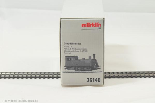 Märklin 36140 Tenderlokomotive Klasse T3, K.W.St.B.