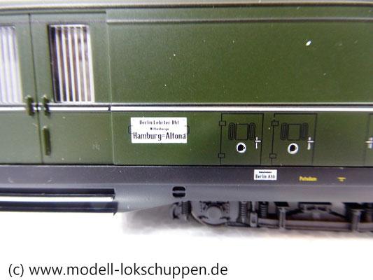 "Märklin 43259 Schnellzugwagen-Set ""Berlin-Hamburg"" DRG Ep.2    4"