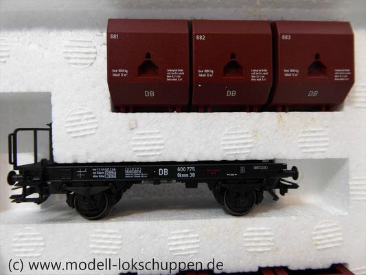 """Märklin 48270 H0 Wagen-Set """"Kohletransport"""", DB, Ep. 3   4"""