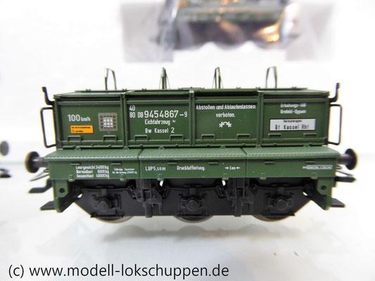 Märklin 48690 H0 Wagen-Set Gleiswaagen-Eichzug, DB, Ep. IV    6