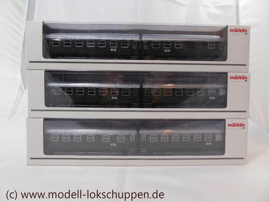 PersonenwagenC3yge / C3Pwyge der DB / Märklin 43172, 43182, 43192   1