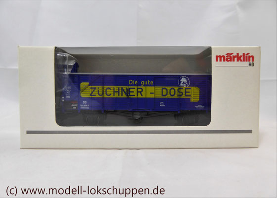 """Insider-Wagen 2000: Gedeckter Güterwagen """"Züchner-Dose"""" /  Märklin 46159    3"""