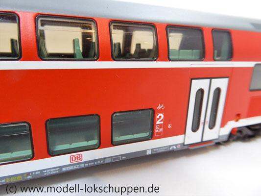 Märklin 43586 Doppelstocksteuerwagen DBbzf 761, 2. Klasse, der DB AG    2