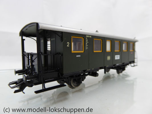 Märklin 43010 Nebenbahnwagen 2Kl. DB Epoche 3 grün H0     4