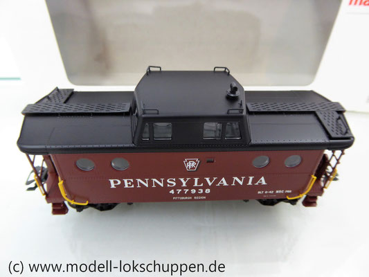 Märklin 45705  Güterzugbegleitwagen  Caboose Typ N5c der Pennsylvania Railroad    8
