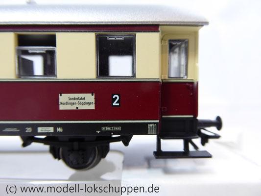 Märklin 43136 Nebenbahnwagen der DB- Exklusivausführung Göppingen Epoche IV     4