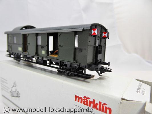 """Märklin 4316 Gepäckwagen """"Donnerbüchse""""-Einheitswagen Pwi der DB      4"""