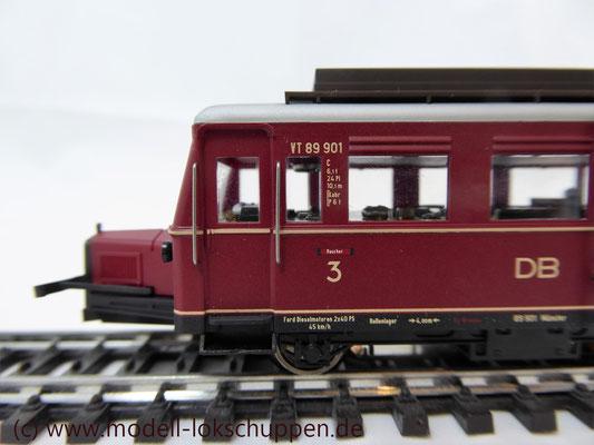 """Schienen-Omnibus """"Wismar"""" BR VT 89.9 der DB / Märklin 34232    5"""
