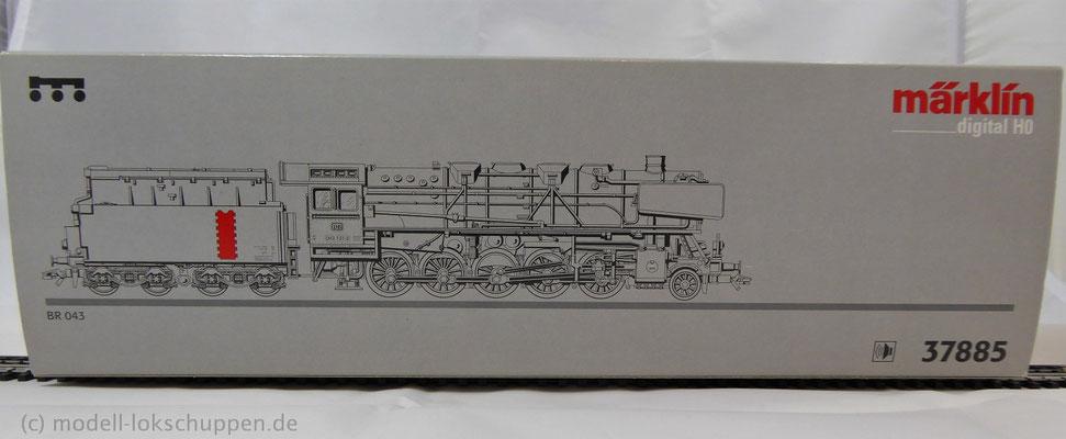 MHI Märklin 37885 - Dampflok BR 043 DB - Güterzuglok mit Tender - Digital - Sound
