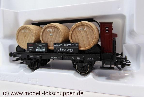 "Märklin H0 46744 Jahreswagen 2003 Fasswagen ""Baron Jeune""   4"