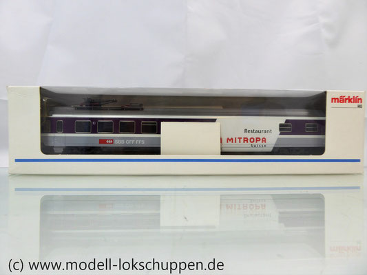 Märklin 42171  Euro-City-Wagen Mitropa Restaurantwagen IV WRm der SBB    2