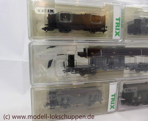 """Trix 24304 Wagen-Set zum Stahlwerk """"Maxhütte""""   8"""