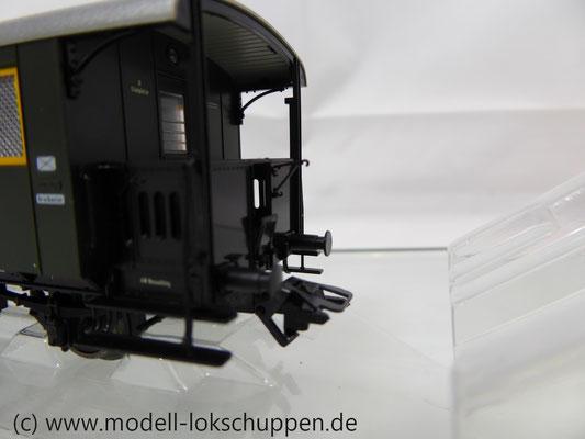 Märklin 43030 Nebenbahnwagen Post und Gepäckwagen der DB H0   7