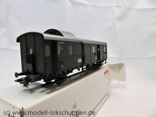 """Märklin 4316 Gepäckwagen """"Donnerbüchse""""-Einheitswagen Pwi der DB      7"""
