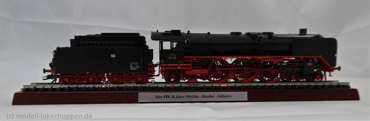 BR 01 118, Museumslok  / Märklin 39014 MHI Sondermodell 2010